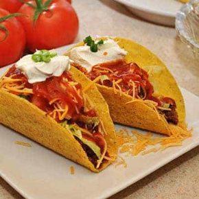 Pork & Bean Tacos