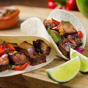 Posh Steak Taco