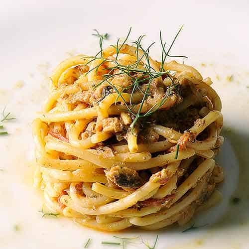 anchovy linguine