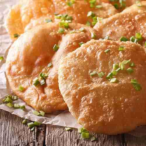 poori bread