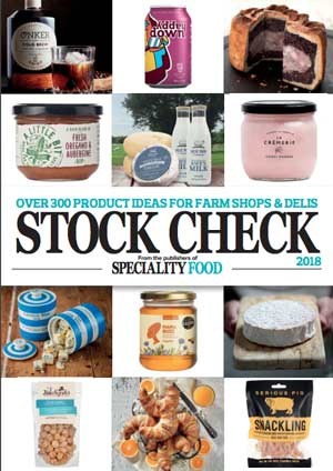 speciality food magazine stock check 2018