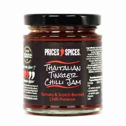 Thaitalian Tingler Chilli Jam
